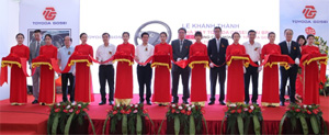 Toyoda Gosei starts up second plant in Vietnam for airbags/steering wheels
