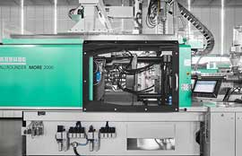 Arburg offers More with larger mould space for multi-component moulding