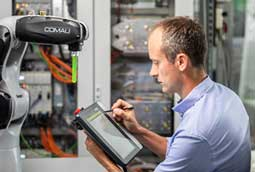 KEBA Industrial Automation; Operation and control of robots