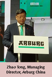 Arburg focusing on digitalised processing in China; to maintain production in Germany