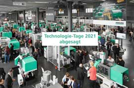 Arburg cancels its 2021 technology event; postponed to 2022