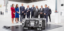 McLaren Automotive opens carbon fibre facility