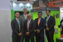 KEBA Team at the Automation Expo