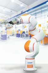 BASF and Siasun cooperated on an industrial cobot prototype