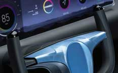 Covestro's DirectCoating technology, automotive interior parts with seamless