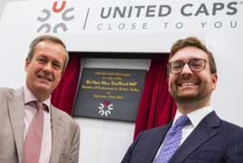 United Caps opens UK facility