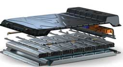 A consortium has developed a lower-cost and lighter battery concept for e-vehicles