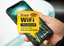 K2019: Arburg to offer visitors free wi-fi access